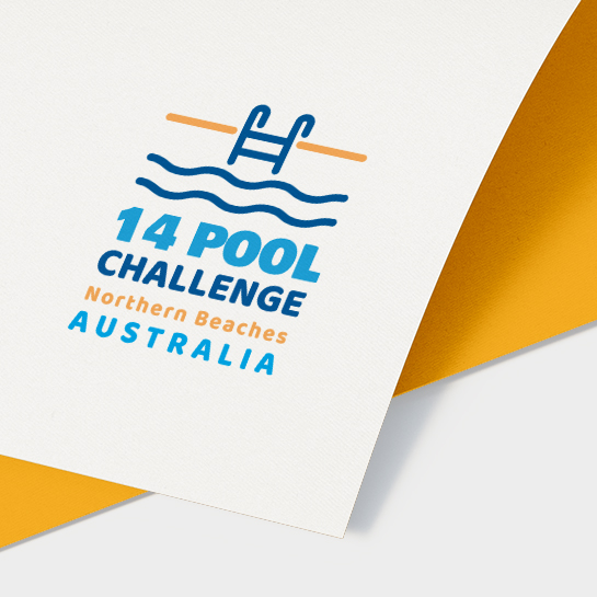 14 Pool Challenge Logo Design